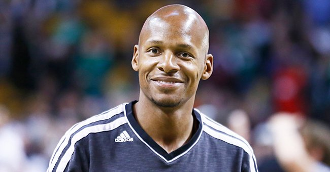 Ray Allen Hugs His Eldest Son as They Pose for a Pic after Training — Do They Look like Twins?