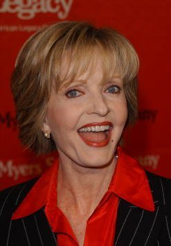 Florence Henderson attends the First Annual Love Rocks Concert February 14, 2002, in Hollywood, CA. | Source: Getty Images.