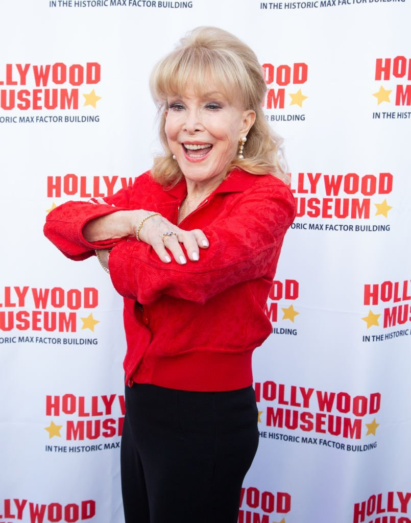 Barbara Eden attends Barbara Eden is Honored At The Hollywood Museum's Lobby Series Tribute  | Getty Images