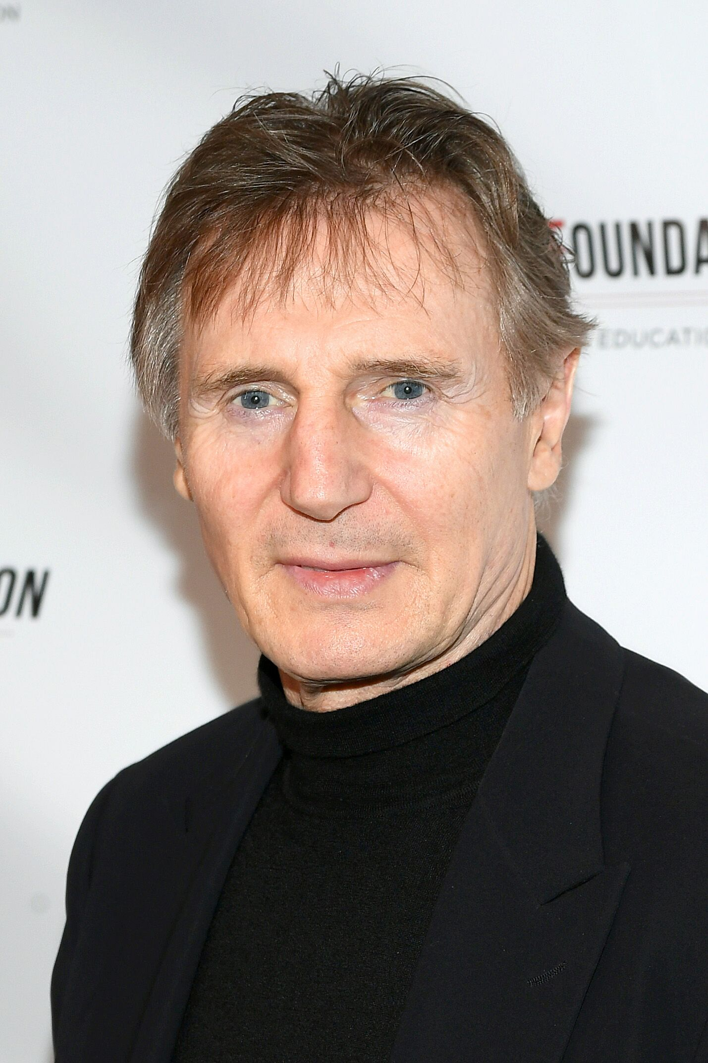 Liam Neeson à la cérémonie d'Honneur de la Fondation Arthur Miller en 2018 | Getty Images/Global Images Ukraine
