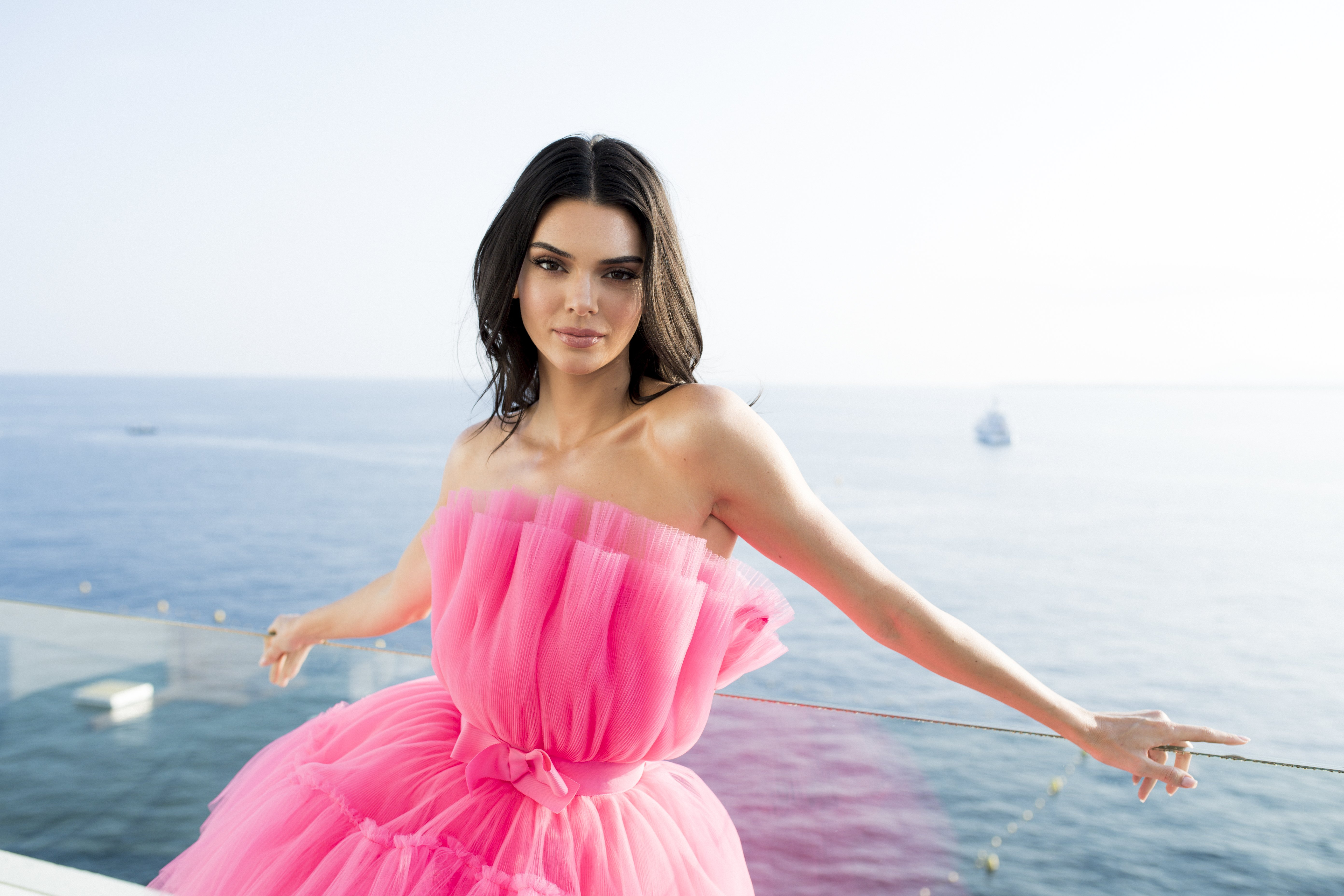 Kendall Jenner poses for portraits during the amfAR Cannes Gala 2019 on May 23, 2019, in Cap d'Antibes, France.   Source: Getty Images.