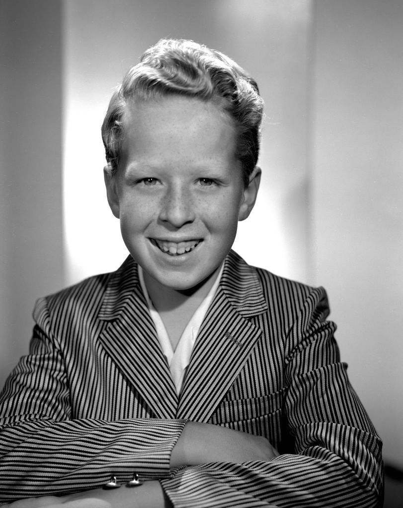 Rusty Hamer at the Danny Thomas Show on August 2, 1957   Photo: Getty Images