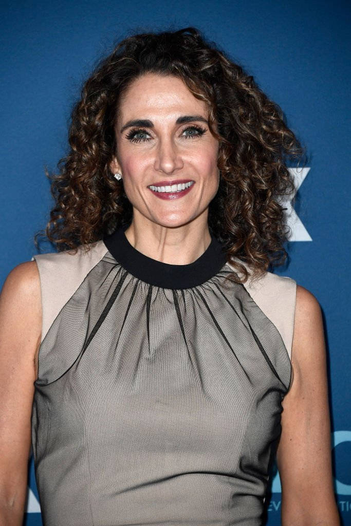 Melina Kanakaredes attends the FOX All-Star Party during the 2018 Winter TCA. | Source: Getty Images
