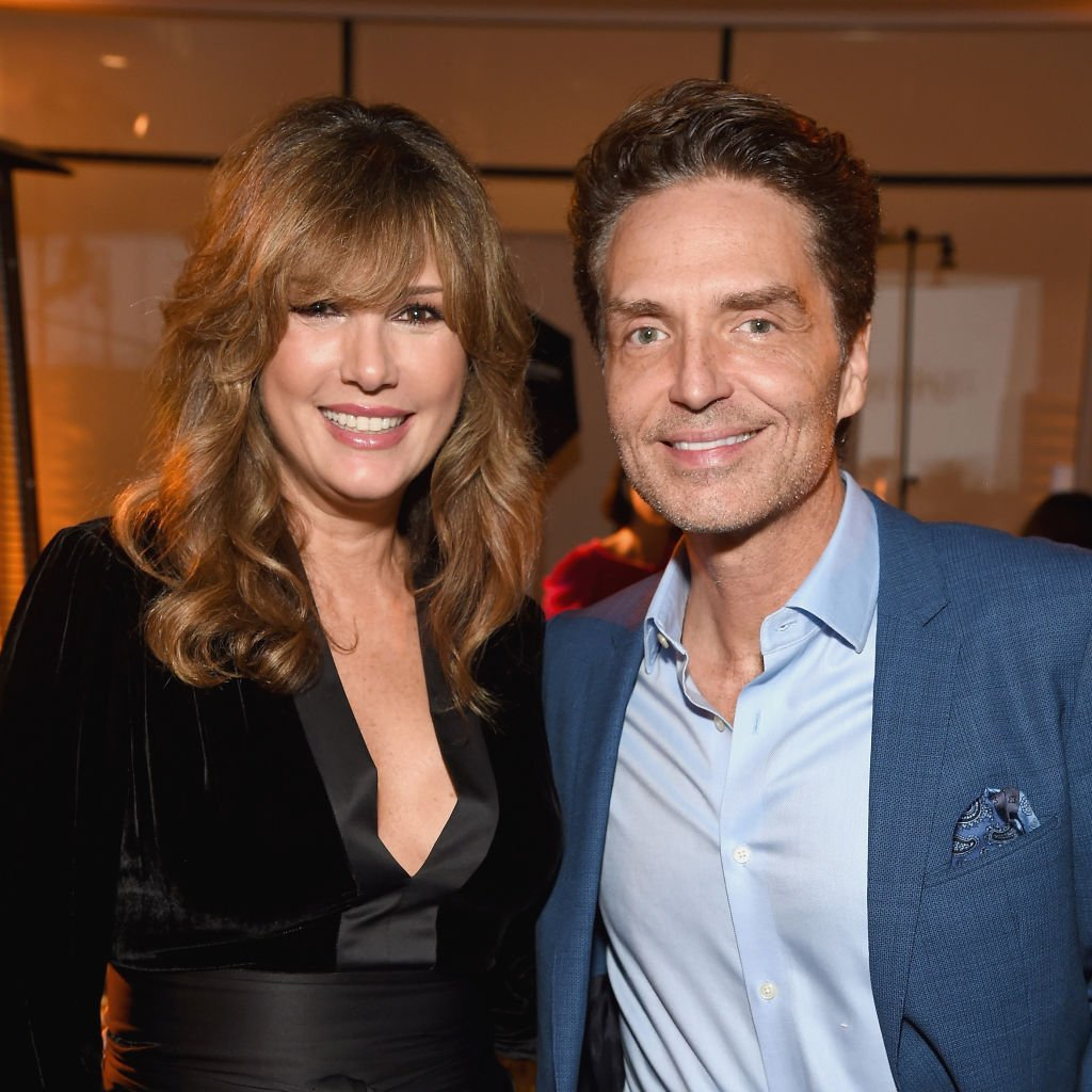 Daisy Fuentes and Richard Marx at the Animal Equality Inspiring Global Action Gala on October 27, 2018 in Beverly Hills, California   Photo: Getty Images