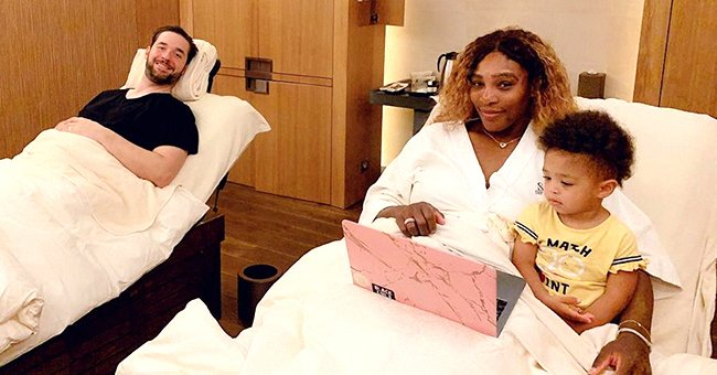 Serena Williams' Husband Pays Tribute to Medical Professionals as He Shares Photo of Daughter with Toy Stethoscope
