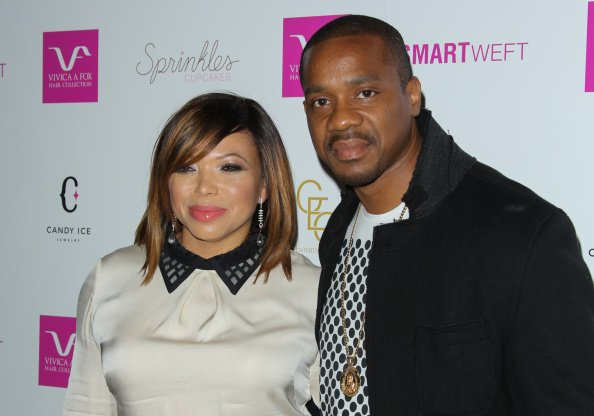 Actors Tisha Campbell and Duane Martin at Vivica A. Fox's 50th birthday celebration in Beverly Hills, California.| Photo: Getty Images.
