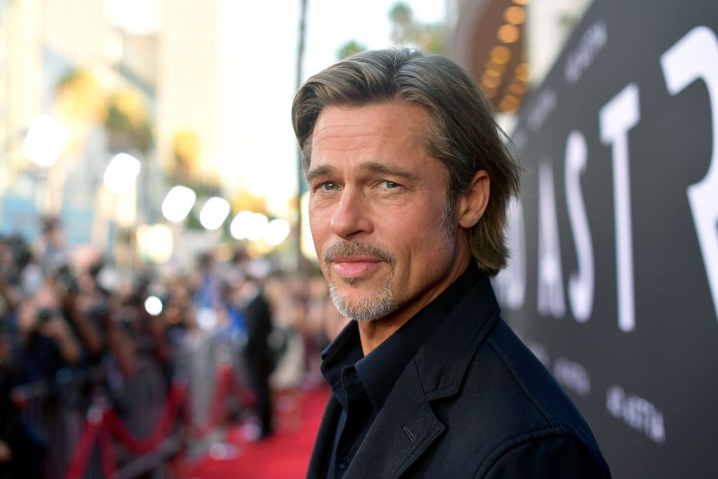 """Brad Pitt atthe premiere of 20th Century Fox's """"Ad Astra"""" at The Cinerama Dome on September 18, 2019. 