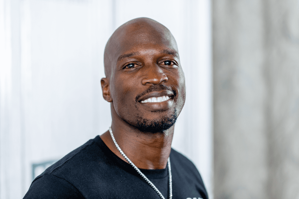 "Chad Johnson discusses ""Warriors of Liberty City"" with the Build Series at Build Studio on September 4, 2018 in New York City. 