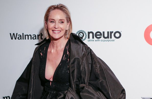 Sharon Stone à West Hollywood Park, Los Angeles, Californie, États-Unis. | Photo : Getty Images