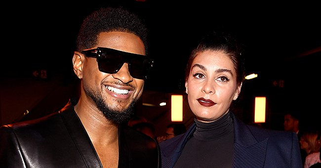 Usher & Girlfriend Jenn Goicoechea Welcome a Daughter — Here's the 1st Pic & Their Baby's Name