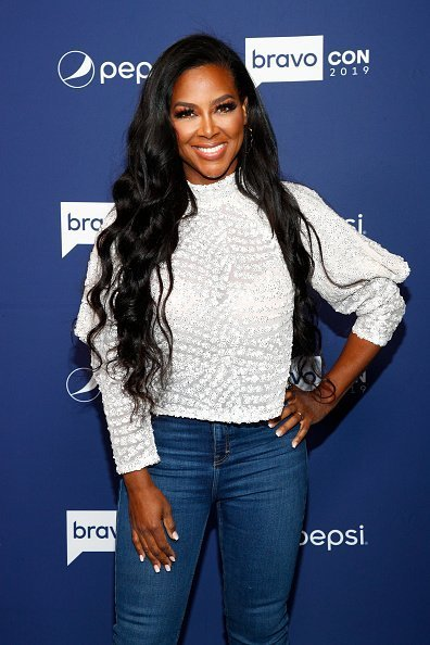 Kenya Moore in New York City on Saturday, November 16, 2019 | Photo: Getty Images