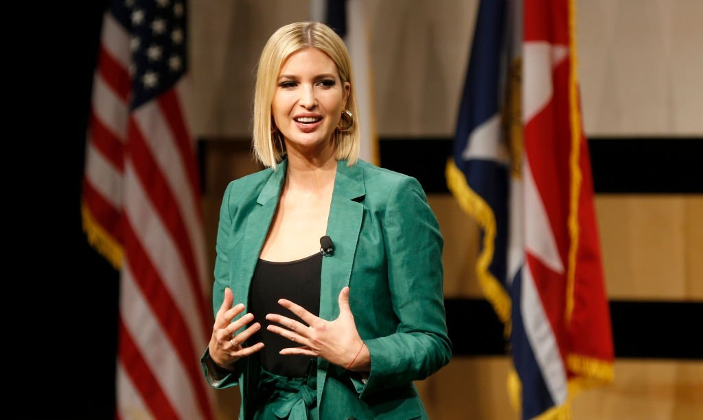 White House advisor Ivanka Trump speaks before the signing of the White Houses Pledge To Americas Workers at El Centro community college | Photo: Getty Images