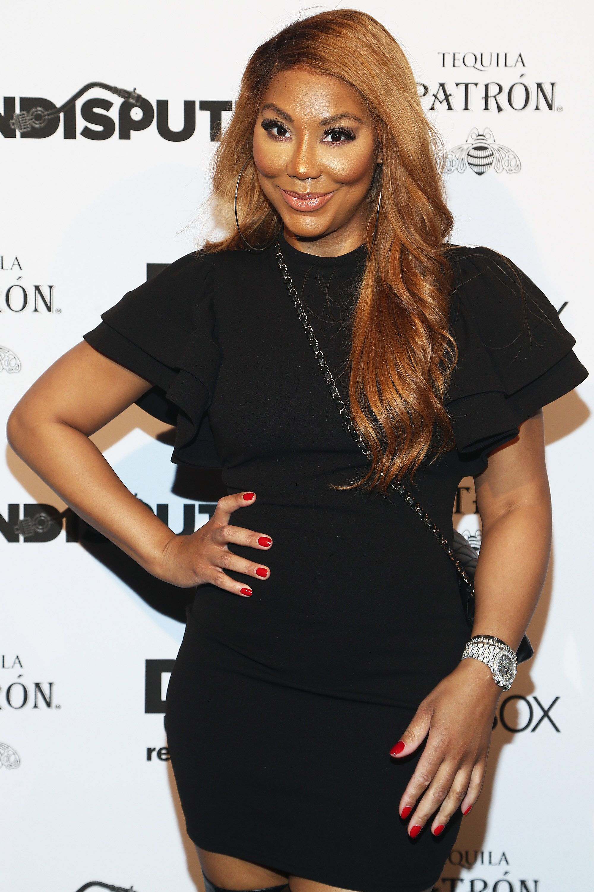 Singer Tamar Braxton attends the Def Jam Celebrates NBA All Star Weekend at Milk Studios in Hollywood With Performances by 2 Chainz, Fabolous & Jadakiss, Presented by Patron Tequila at Milk Studios on February 16, 2018 | Photo: Getty Images