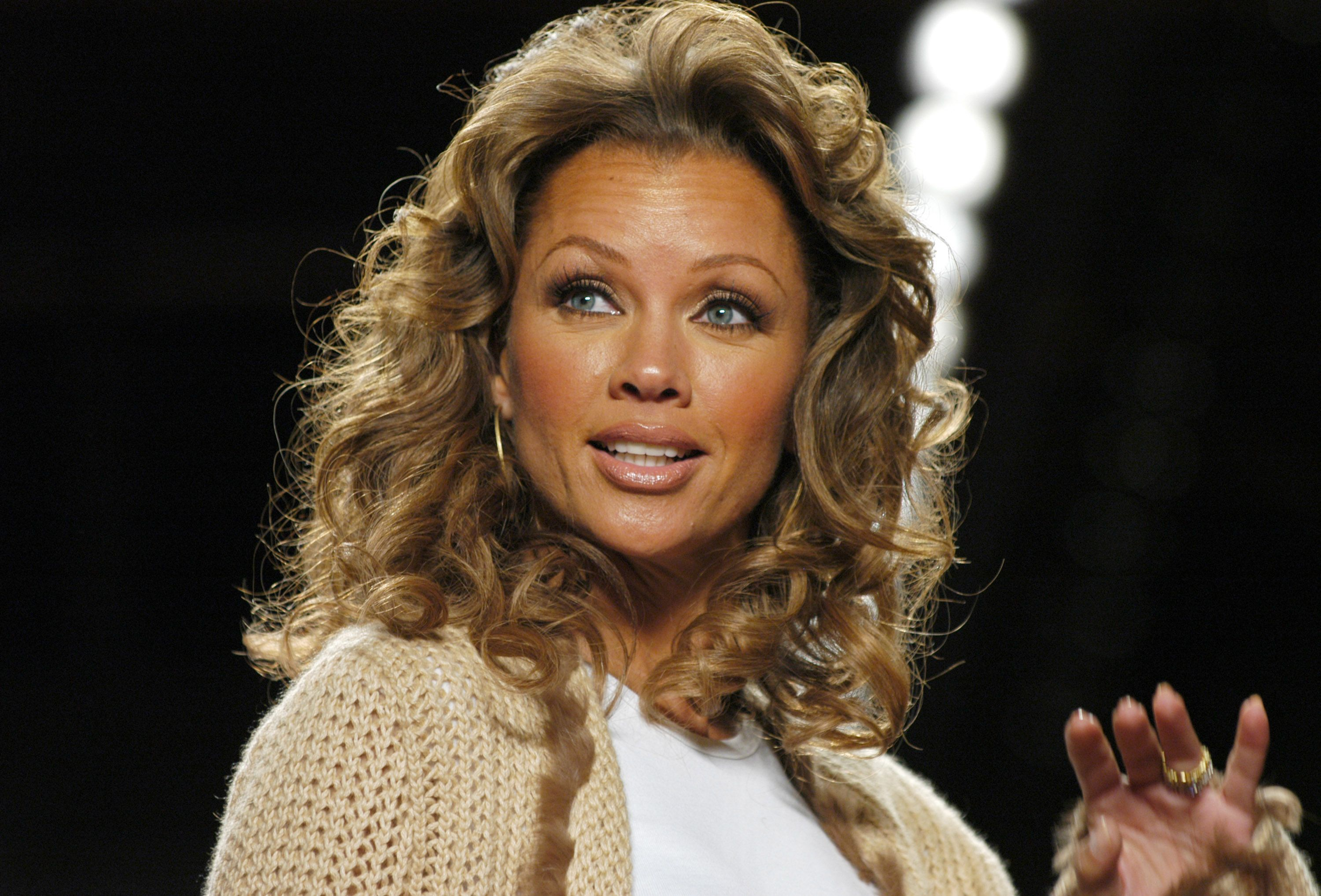 Vanessa Williams during Olympus Fashion Week Fall 2005 at The Tent, Bryant Park in New York City, New York, United States. | Source: Getty Images