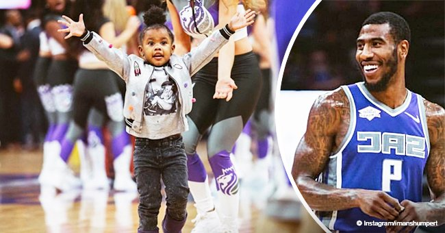 Teyana Taylor's daughter Junie melts hearts, looking adorable while supporting dad Iman on game day