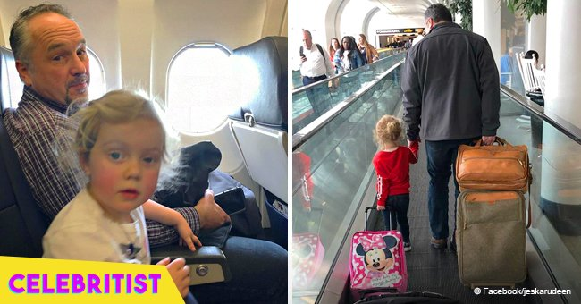 Kind man went viral this year after grateful mom thanked him for comforting scared child on plane
