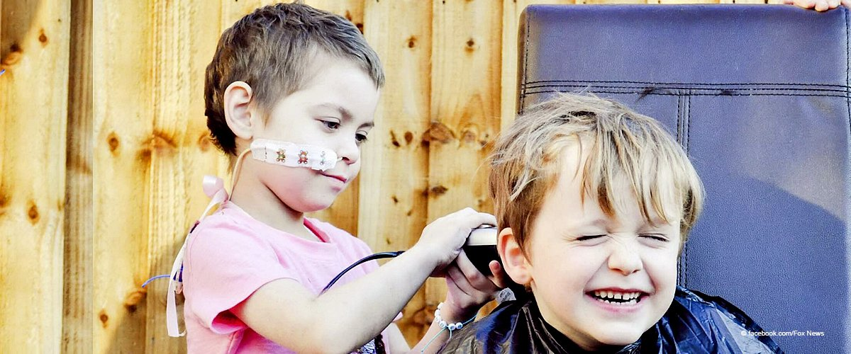 6-Year-Old Boy Comforted His Best Friend with Cancer by Shaving His Own Head in Support