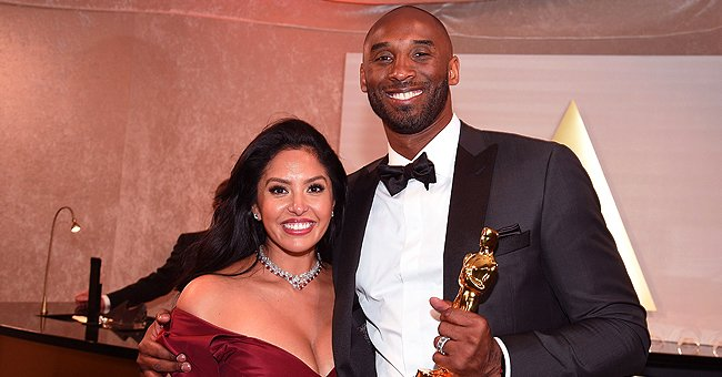 Vanessa Bryant Shares Video of Late Kobe Kissing Her in Celebration of 2009 NBA Win