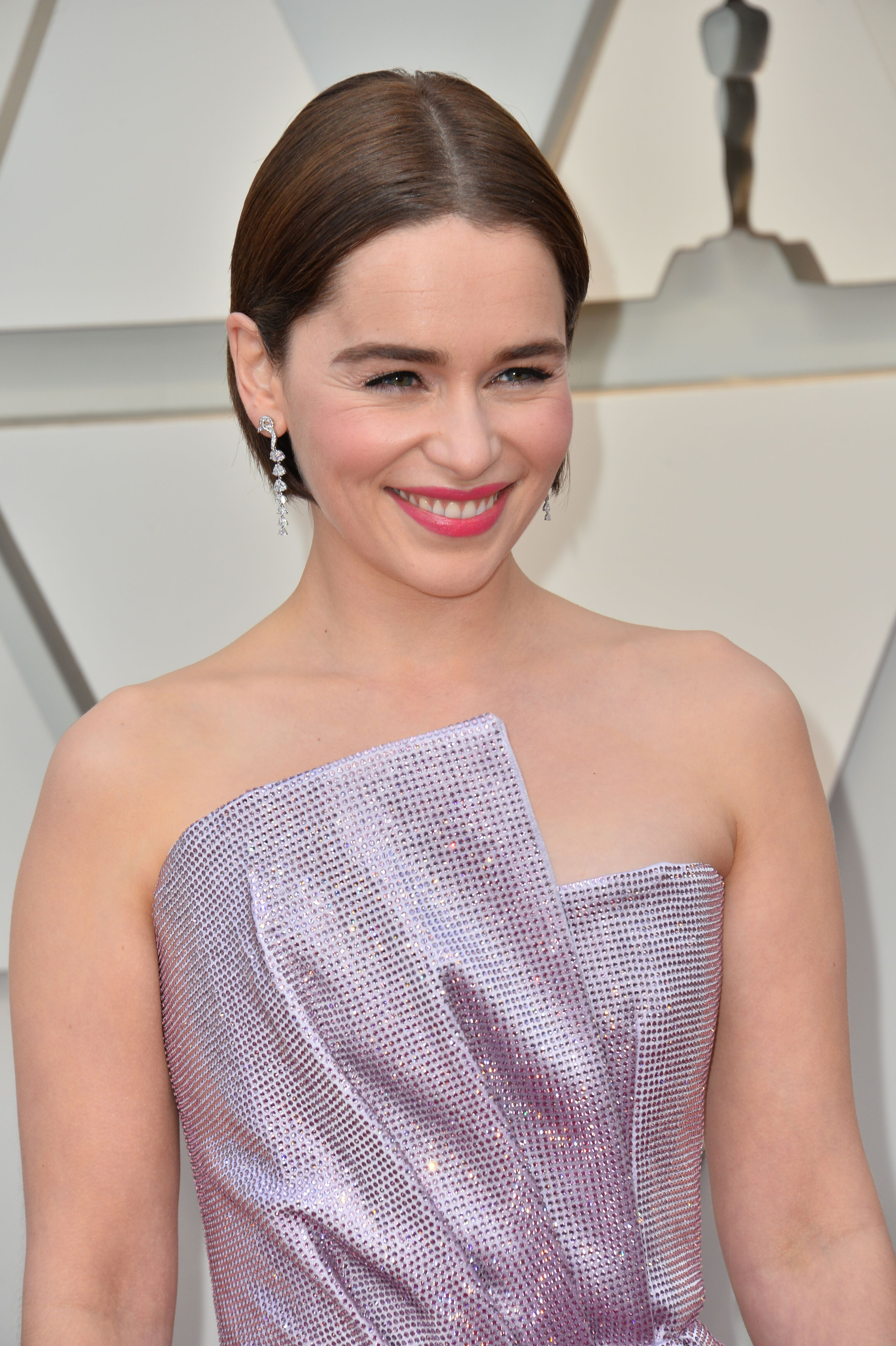 Emilia Clarke attends the 91st Annual Academy Awards. | Source: Getty Images