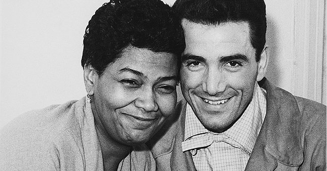 American singer Pearl Bailey (1918 - 1990) and jazz drummer Louie Bellson (1924 - 2009) in London shortly before their wedding, 17th November 1952. | Photo: Getty Images