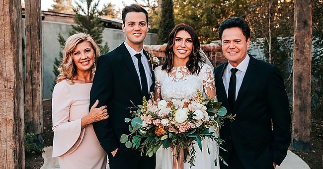 Donny Osmond's Son Josh Has Wedding Reception 4 Months after Tying the Knot — See the Photos