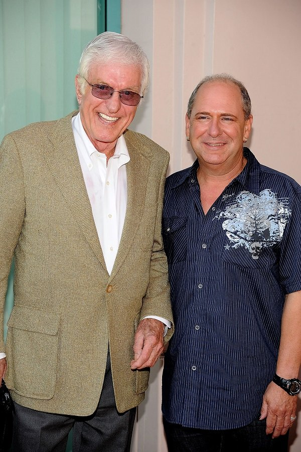 Dick Van Dyke and Larry Mathews on June 18, 2009 in North Hollywood, California  