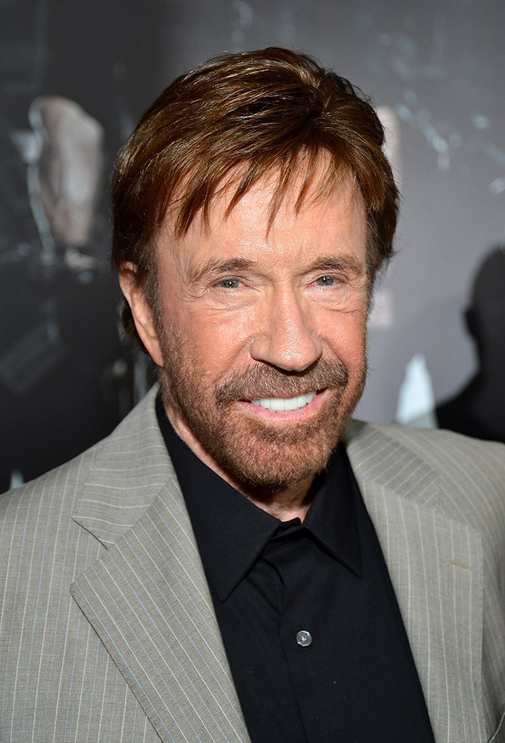 Chuck Norris. I Image: Getty Images.