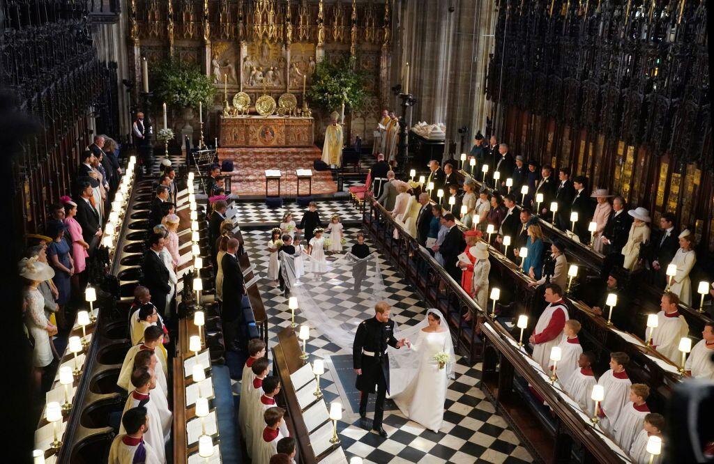 Meghans und Harrys Hochzeit, 2018 |Quelle: Getty Images