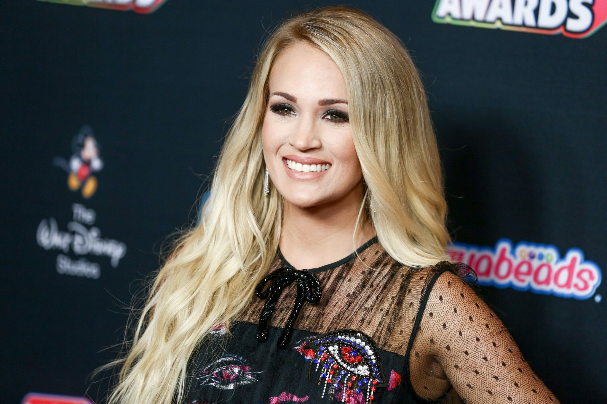 Carrie Underwood attends the 2018 Radio Disney Music Awards at Loews Hollywood Hotel on June 22, 2018 | Photo: Getty Images