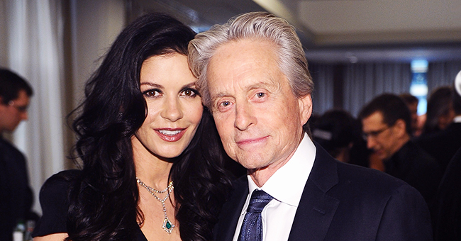 Michael Douglas Shares New Photo with Wife Catherine Zeta-Jones & Adult Son Dylan