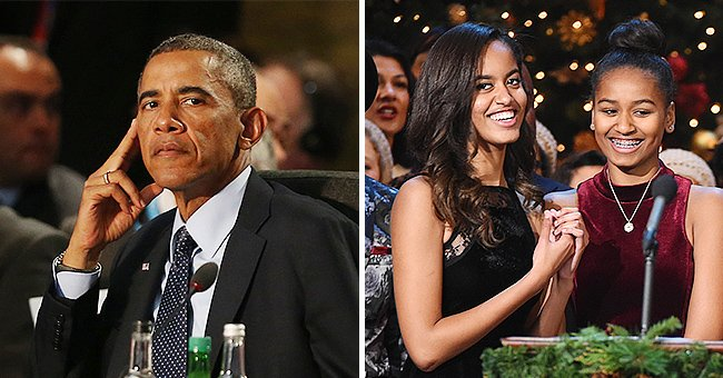 Barack Obama Reveals Daughters Sasha and Malia and Wife Michelle Constantly Mock Him About His Ears & Habits