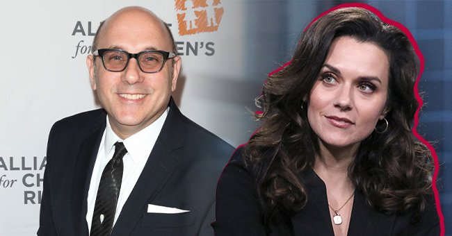 Willie Garson (left) and Hilarie Burton (right) | Photo: Getty Images