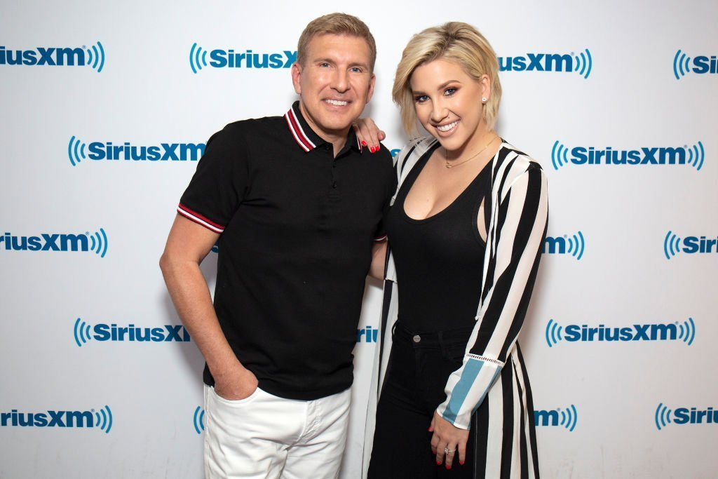 Todd and Savannah Chrisley visit SiriusXM Studios | Photo: Getty Images