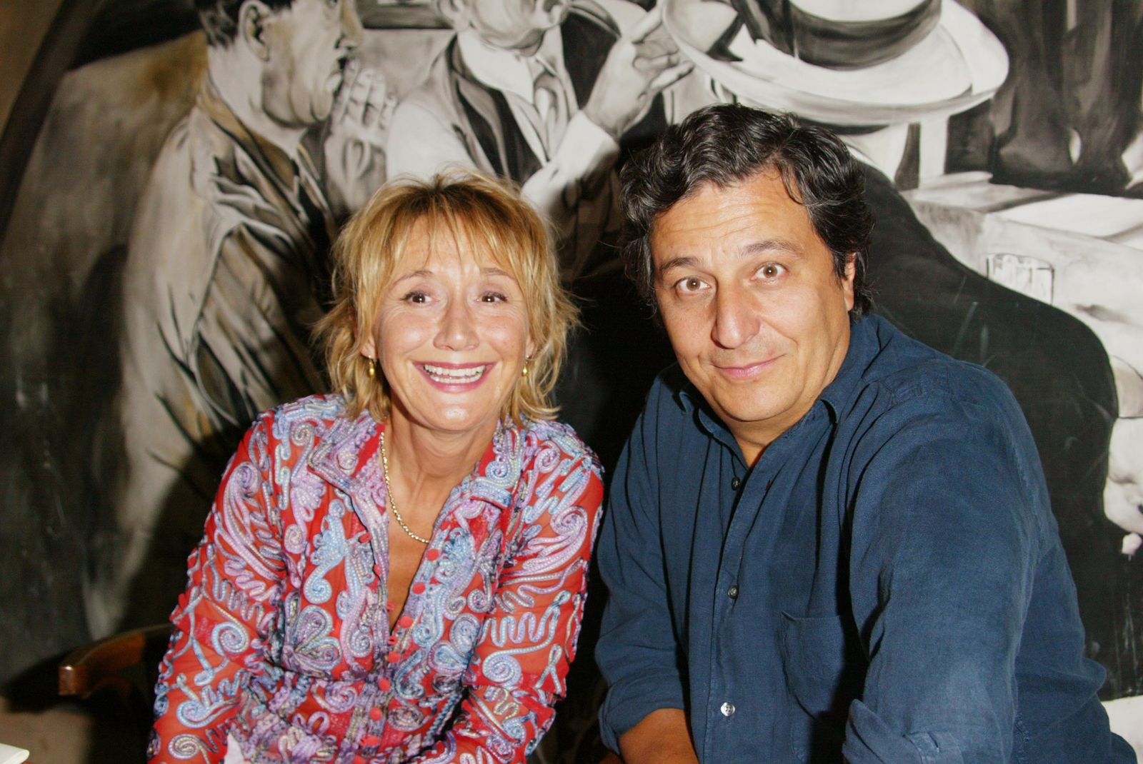 Marie-Anne Chazel et Christian Clavier | Photo : Getty Images
