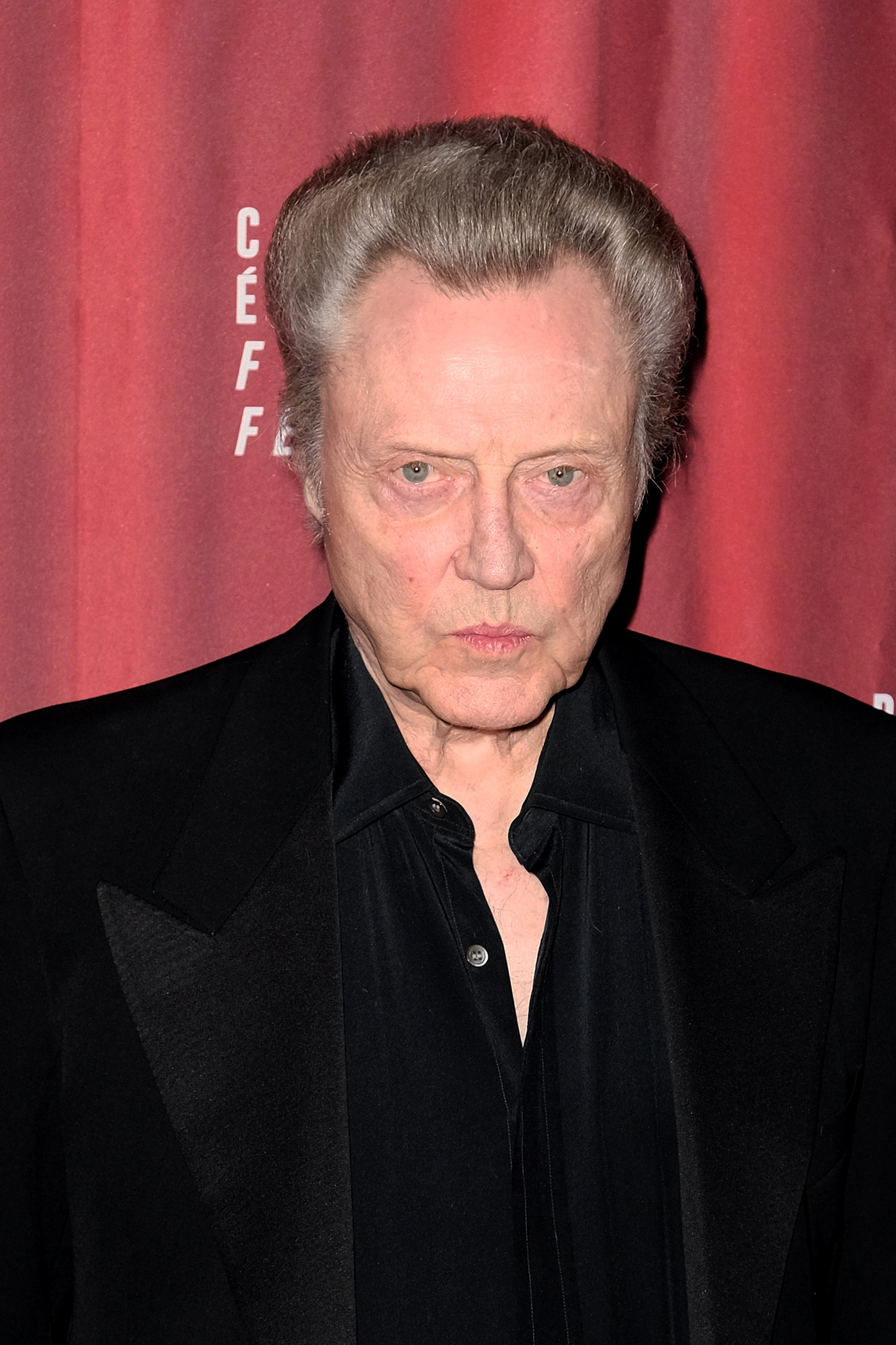 Actor Christopher Walken attends the 8th Champs Elysees Film Festival : Day Four Paris, France.    Source: Getty Images