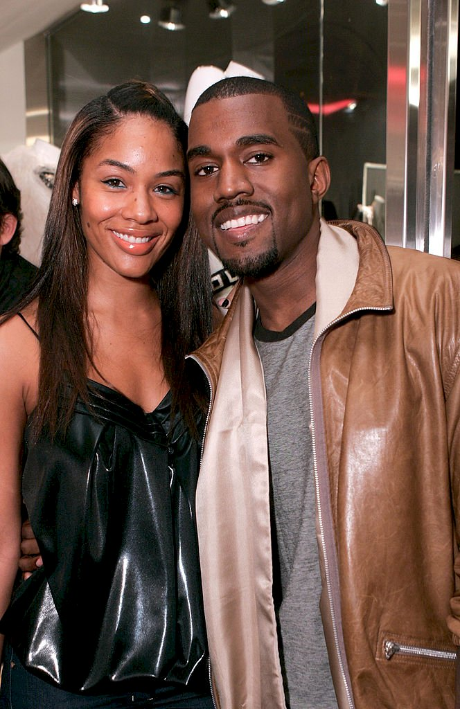 LOS ANGELES - SEPTEMBER 25: Alexis Pheiffer, left, and music recording artist Kanye West attend the grand opening of Intermix on September 25, 2007 in Los Angeles, California. (Photo by Chris Weeks/WireImage)