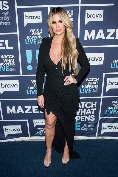 """Kim Zolciak on the show """"Watch What Happens Live With Andy Cohen"""" 