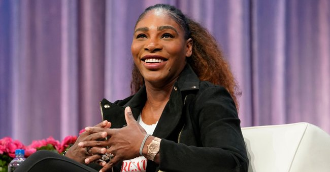 Serena Williams' Daughter Shows Fluffy Hair While Spending Quality Time with Dad before Bedtime