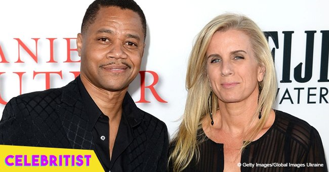 'Jerry Maguire' star Cuba Gooding Jr.'s estranged wife turns heads in skimpy shorts & tank top