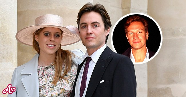 An image of Princess Beatrice and Edoardo Mapelli Mozzi featuring her ex-lover David Clark   Photo: Getty Images