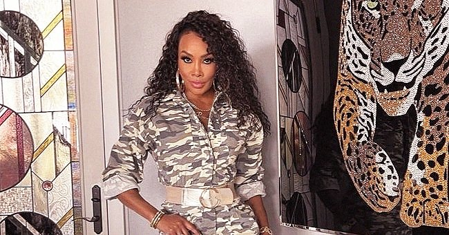 'Soul Food' Star Vivica Fox, 56, Looks Nothing Her Age in a Military Mini Dress & Thigh-High Boots