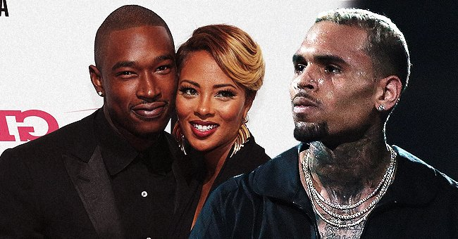Eva Marcille's Ex Kevin McCall Posts Threatening Message to Chris Brown and a Message to God
