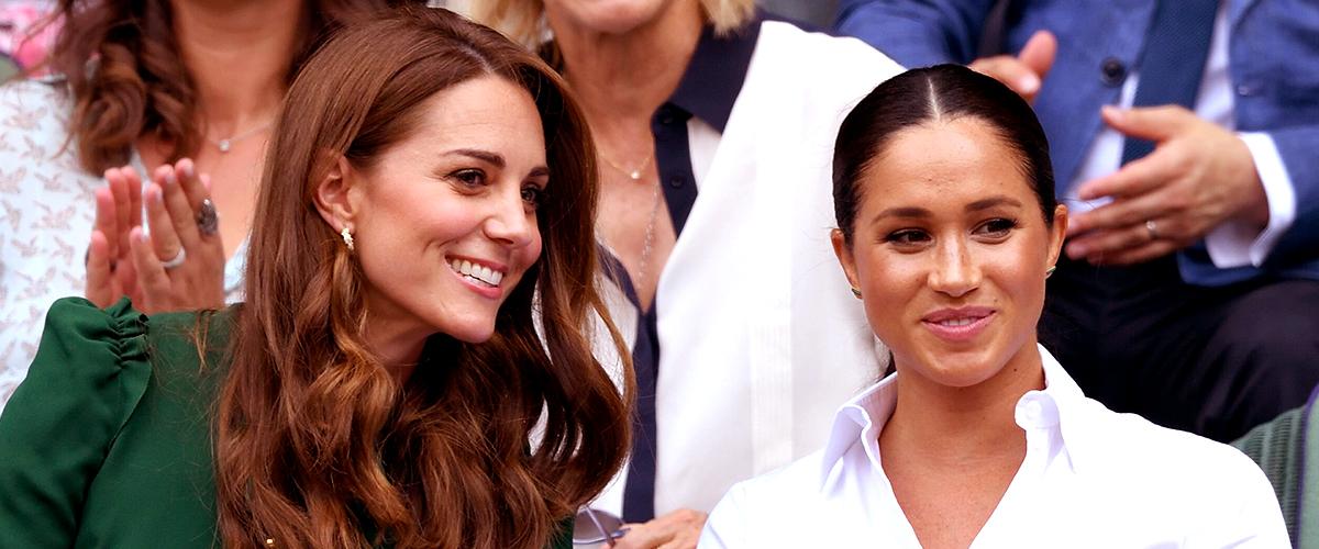 Kate et Meghan trompent le public et sont en fait des amies proches
