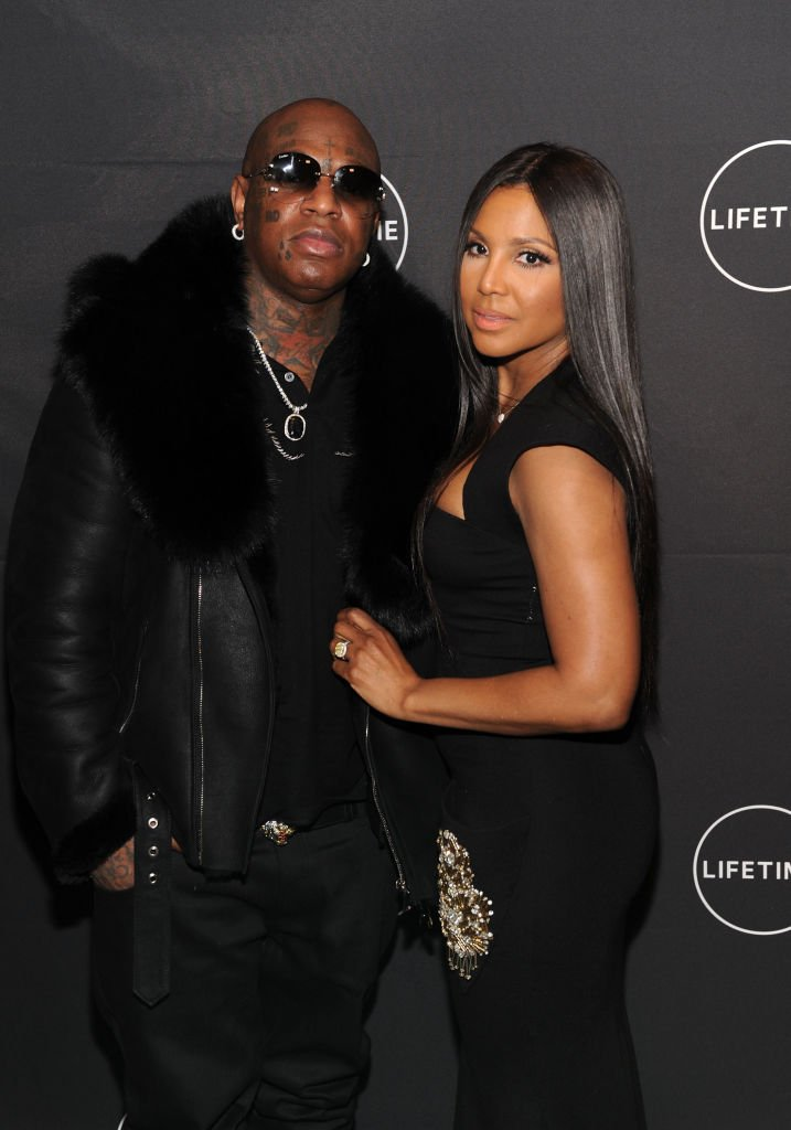 """Birdman and Toni Braxton at the premiere of Lifetime's """"Faith Under Fire: The Antoinette Tuff Story"""" in New York in January 2018. 