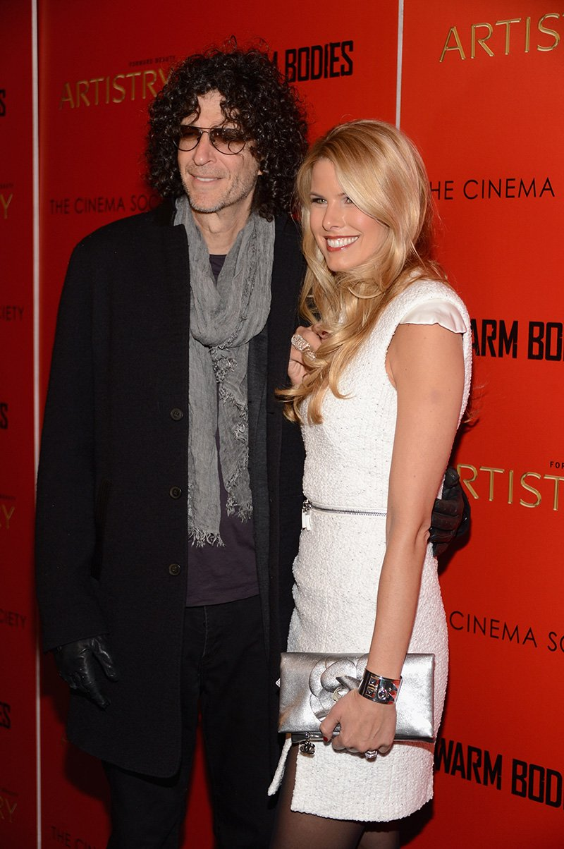 """Howard Stern and Beth Ostrosky Stern attend a screening of """"Warm Bodies"""" hosted by The Cinema Society at Landmark's Sunshine Cinema on January 25, 2013 in New York City. I Image: Getty Images."""