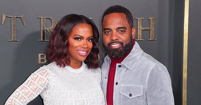 Kandi Burruss' Husband Todd Tucker Shows off His Daughter Blaze's Room Which He Put Together Himself (Video)