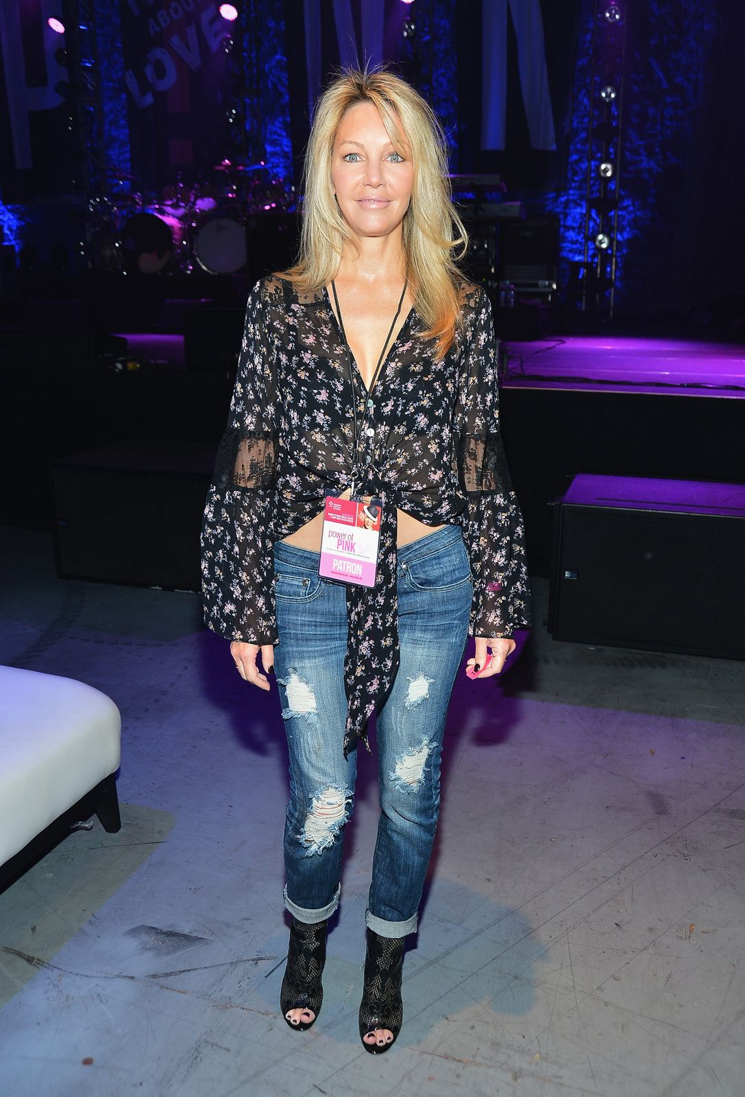 Heather Locklear atthe St. John's Health Center's Power of Pink benefiting The Margie Petersen Breast Centeron November 12, 2012, in Los Angeles, California | Photo:Frazer Harrison/Getty Images