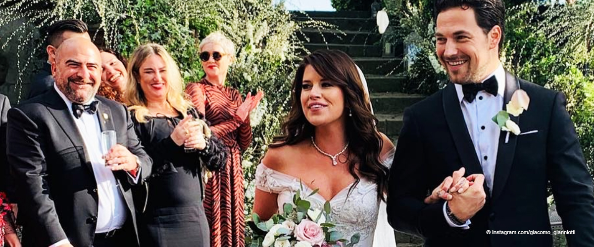 Grey's Anatomy' Actor Giacomo Gianniotti Gets Married in Italy