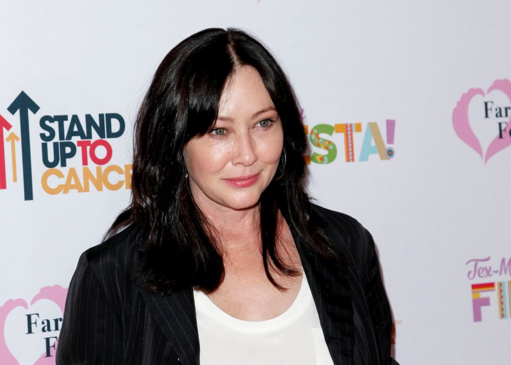 Shannen Doherty attends the Farrah Fawcett Foundation's Tex-Mex Fiesta at Wallis Annenberg Center for the Performing Arts | Photo: Getty Images