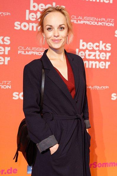 "Friederike Kempter, Premiere ""Becks letzter Sommer"", Berlin, 2015 | Quelle: Getty Images"